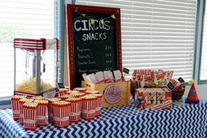 Circus Carnival Themed 1st Birthday Party Full of Fabulous Ideas via Kara's Party Ideas KarasPartyIdeas.com #circusparty #carnivalparty #bigtopcircusparty #partydecor #partyideas (10)