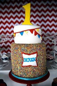 Circus Carnival Themed 1st Birthday Party Full of Fabulous Ideas via Kara's Party Ideas KarasPartyIdeas.com #circusparty #carnivalparty #bigtopcircusparty #partydecor #partyideas (21)