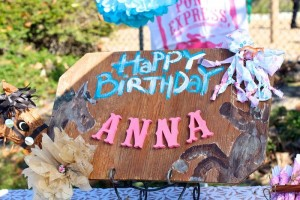 Vintage Cowgirl themed birthday party with Lots of Really Cute Ideas via Kara's Party Ideas | Cake, decor, cupcakes, games and more! KarasPartyIdeas.com #cowgirlparty #westernparty #partyideas #partydecor (31)