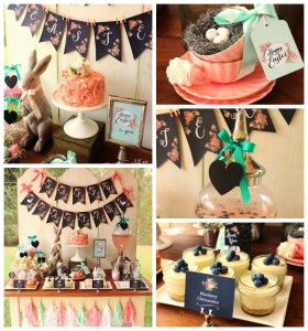 Chalkboard Spring Party + Floral Easter Brunch with SO MANY Really Cute Ideas via Kara's Party Ideas KarasPartyIdeas.com #easterparty #easterbrunch #springparty #springpartyideas #brunchideas #floralbrunch #floralparty #partydecor #partyideas (20)