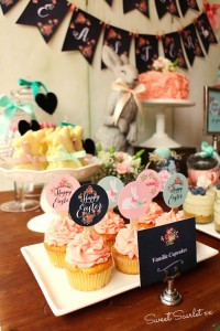Chalkboard Spring Party + Floral Easter Brunch with SO MANY Really Cute Ideas via Kara's Party Ideas KarasPartyIdeas.com #easterparty #easterbrunch #springparty #springpartyideas #brunchideas #floralbrunch #floralparty #partydecor #partyideas (8)