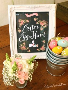 Chalkboard Spring Party + Floral Easter Brunch with SO MANY Really Cute Ideas via Kara's Party Ideas KarasPartyIdeas.com #easterparty #easterbrunch #springparty #springpartyideas #brunchideas #floralbrunch #floralparty #partydecor #partyideas (3)