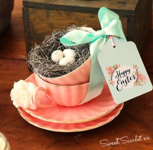 Chalkboard Spring Party + Floral Easter Brunch with SO MANY Really Cute Ideas via Kara's Party Ideas KarasPartyIdeas.com #easterparty #easterbrunch #springparty #springpartyideas #brunchideas #floralbrunch #floralparty #partydecor #partyideas (17)