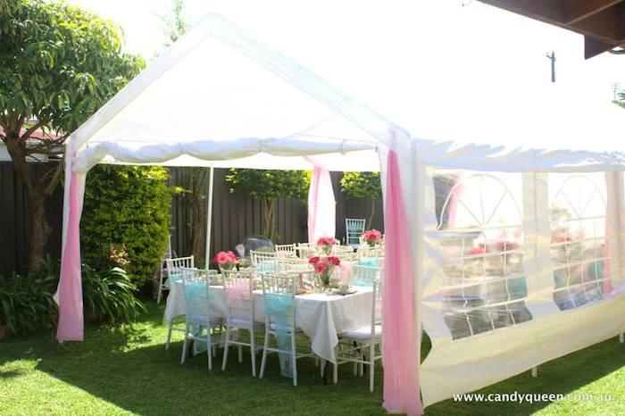 Floral High Tea Bridal Shower With Such Beautiful Ideas Via Karau0027s Party  Ideas KarasPartyIdeas.com