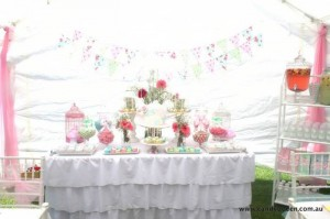 Floral High Tea Bridal Shower with Such Beautiful Ideas via Kara's Party Ideas KarasPartyIdeas.com #floralteaparty #teaparty #teapartybridalshower #gardenparty #partydecor #partyideas (29)