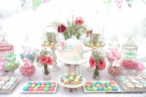 Floral High Tea Bridal Shower with Such Beautiful Ideas via Kara's Party Ideas KarasPartyIdeas.com #floralteaparty #teaparty #teapartybridalshower #gardenparty #partydecor #partyideas (7)