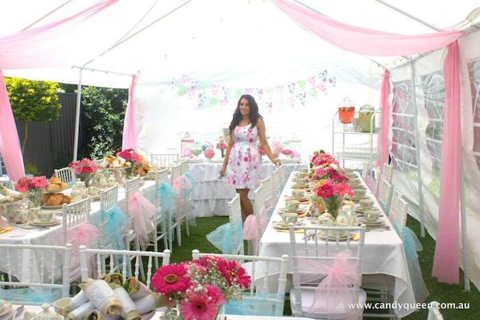 floral high tea bridal shower with such beautiful ideas via karau0027s party ideas