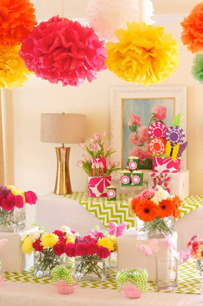 kara 39 s party ideas flower shop themed birthday party via