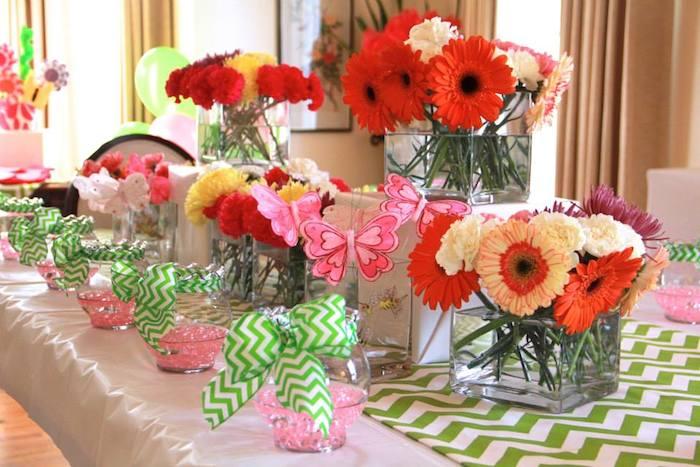 Kara\'s Party Ideas Flower Shop Themed Birthday Party via Kara\'s ...