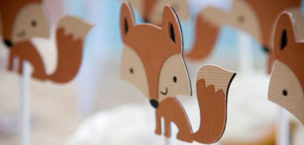 Fox Themed 1st Birthday Party with Such Cute Ideas via Kara's Party Ideas KarasPartyIdeas.com #foxparty #firstbirthdayparty #woodlandparty #partydecor #partyideas (1)