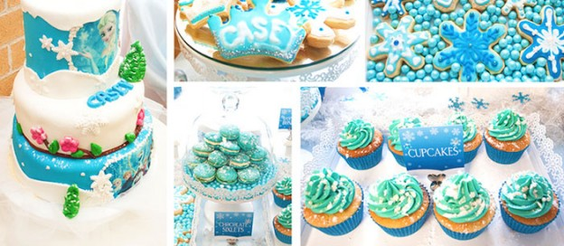 Frozen Themed Birthday Party with Such Cute Ideas via Kara's Party Ideas KarasPartyIdeas.com #frozenparty #disneysfrozen #winterpartyideas #partydecor (1)