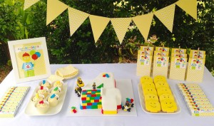 Lego themed birthday party with Such Awesome Ideas via Kara's Party Ideas | Cake, decor, cupcakes, games and more! KarasPartyIdeas.com #LegoParty #legos #legocake #partyideas #partydecor (5)