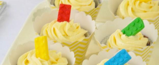 Lego themed birthday party with Such Awesome Ideas via Kara's Party Ideas   Cake, decor, cupcakes, games and more! KarasPartyIdeas.com #LegoParty #legos #legocake #partyideas #partydecor (2)