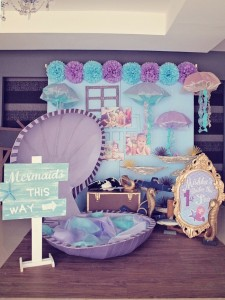 Mermaids vs. Pirates Themed Birthday Party with So Many Really Cute Ideas via Kara's Party Ideas KarasPartyIdeas.com #mermaidparty #pirateparty #mermaidsandpirates #partyideas #partydecor (58)