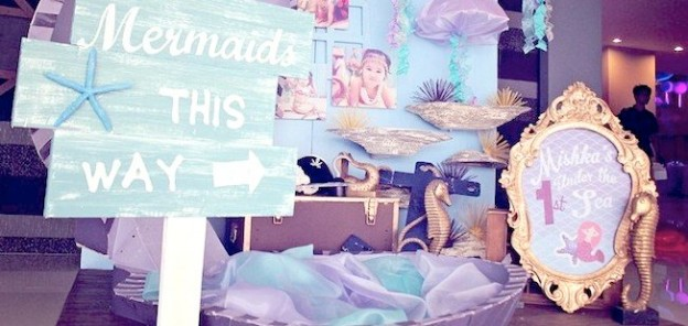 mermaid pirate birthday party via Kara's party ideas #mermaidparty #pirateparty