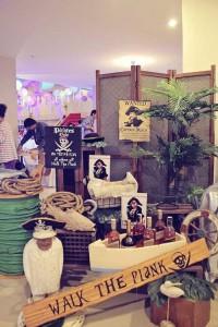 Mermaids vs. Pirates Themed Birthday Party with So Many Really Cute Ideas via Kara's Party Ideas KarasPartyIdeas.com #mermaidparty #pirateparty #mermaidsandpirates #partyideas #partydecor (21)