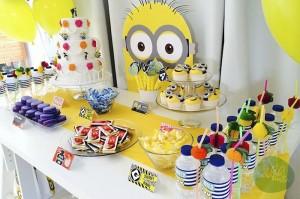 Minion Themed Birthday Party with Such Cute Ideas via Kara's Party Ideas KarasPartyIdeas.com #minionparty #despicableme #partydecor #partyideas (12)