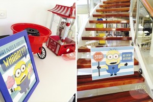 Minion Themed Birthday Party with Such Cute Ideas via Kara's Party Ideas KarasPartyIdeas.com #minionparty #despicableme #partydecor #partyideas (11)