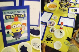 Minion Themed Birthday Party with Such Cute Ideas via Kara's Party Ideas KarasPartyIdeas.com #minionparty #despicableme #partydecor #partyideas (8)