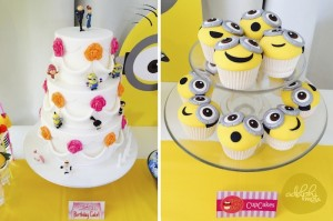 Minion Themed Birthday Party with Such Cute Ideas via Kara's Party Ideas KarasPartyIdeas.com #minionparty #despicableme #partydecor #partyideas (6)