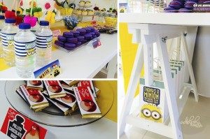 Minion Themed Birthday Party with Such Cute Ideas via Kara's Party Ideas KarasPartyIdeas.com #minionparty #despicableme #partydecor #partyideas (5)