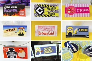 Minion Themed Birthday Party with Such Cute Ideas via Kara's Party Ideas KarasPartyIdeas.com #minionparty #despicableme #partydecor #partyideas (4)