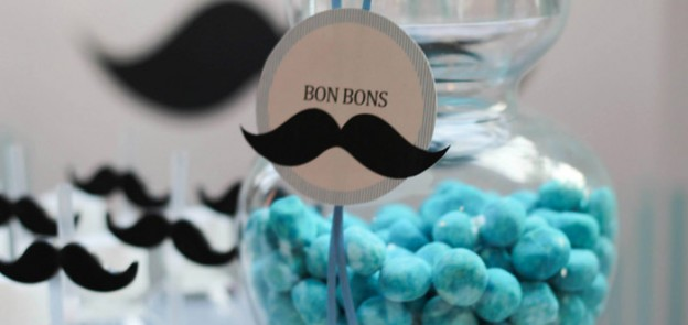 Little Man + Mustache Themed 1st Birthday Party with Lots of Really Cute Ideas via Kara's Party Ideas KarasPartyIdeas.com #mustachebash #mustacheparty #littlemanmustachebash #littlemanparty #firstbirthday #partydecor #partyideas (2)