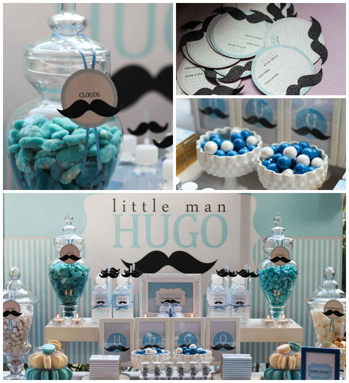 kara 39 s party ideas little man mustache themed 1st birthday party via