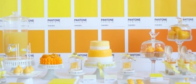 pantone themed colorful art birthday party via Kara's Party Ideas KarasPartyIdeas.com