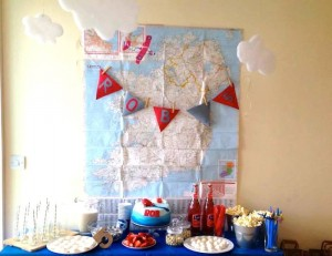 Pilot Themed Birthday Party with Such Cute Ideas via Kara's Party Ideas KarasPartyIdeas.com #airplaneparty #aviator #travelparty #airplanepartydecor #partyideas (3)