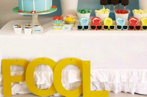 Summer Pool Party with Lots of Really Cute Ideas via Kara's Party Ideas Kara Allen KarasPartyIdeas.com #poolparty #summer #partydecor #partyideas (6)