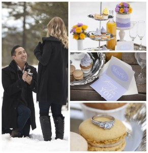 Winterland Wedding Proposal Dessert Table with Such Gorgeoud Ideas via Kara's Party Ideas Kara Allen KarasPartyIdeas.com #winterwedding #weddingproposalideas #winterlanddesserttable #weddingdesserttable #partyideas #partydecor (29)