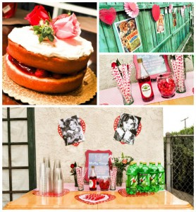 Shirley Temple 1st Birthday Party with Such Cute Ideas via Kara's Party Ideas KarasPartyIdeas.com #shirleytemple #firstbirthday #vintagepartyideas #partydecor #partyideas (35)