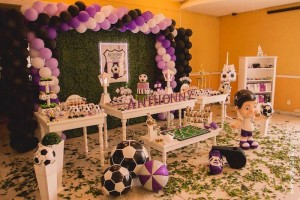 Soccer Themed Birthday Party with So Many Awesome Ideas via Kara's Party Ideas KarasPartyIdeas.com #soccerparty #sports #soccercake #sportsparty #partydecor #partyideas (11)