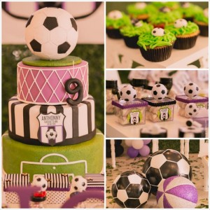 Soccer Themed Birthday Party with So Many Awesome Ideas via Kara's Party Ideas KarasPartyIdeas.com #soccerparty #sports #soccercake #sportsparty #partydecor #partyideas (50)