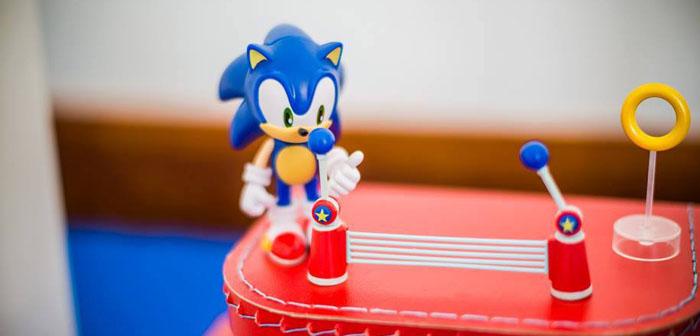Kara S Party Ideas Sonic Themed Birthday Party Decor Ideas Cake Planning Idea