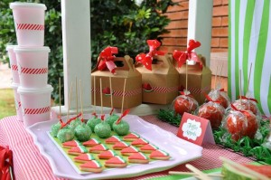 Strawberry and Watermelon themed birthday party with SUCH CUTE IDEAS via Kara's Party Ideas | Cake, decor, cupcakes, games and more! KarasPartyIdeas.com #strawberryparty #watermelonparty #strawberrysoiree #summersoiree #summerparty #partyideas #partydecor (12)
