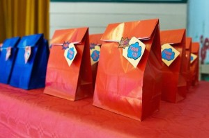 Vintage Superhero themed birthday party with Lots of Awesome Ideas via Kara's Party Ideas KarasPartyIdeas.com #superheroparty #vintagesuperhero #boybirthdayparty #partyideas #partydecor (3)