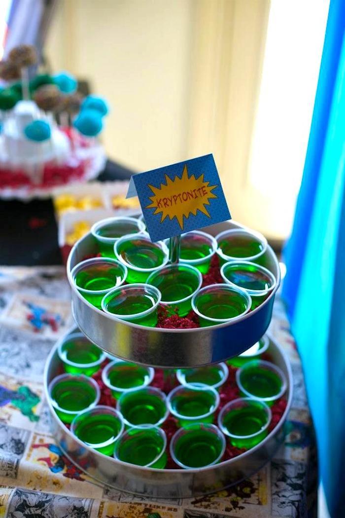 Kara S Party Ideas Superhero Themed Birthday Party Via