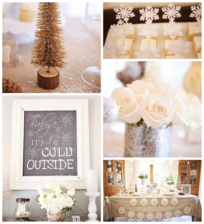 Baby It S Cold Outside Baby Shower Decorations