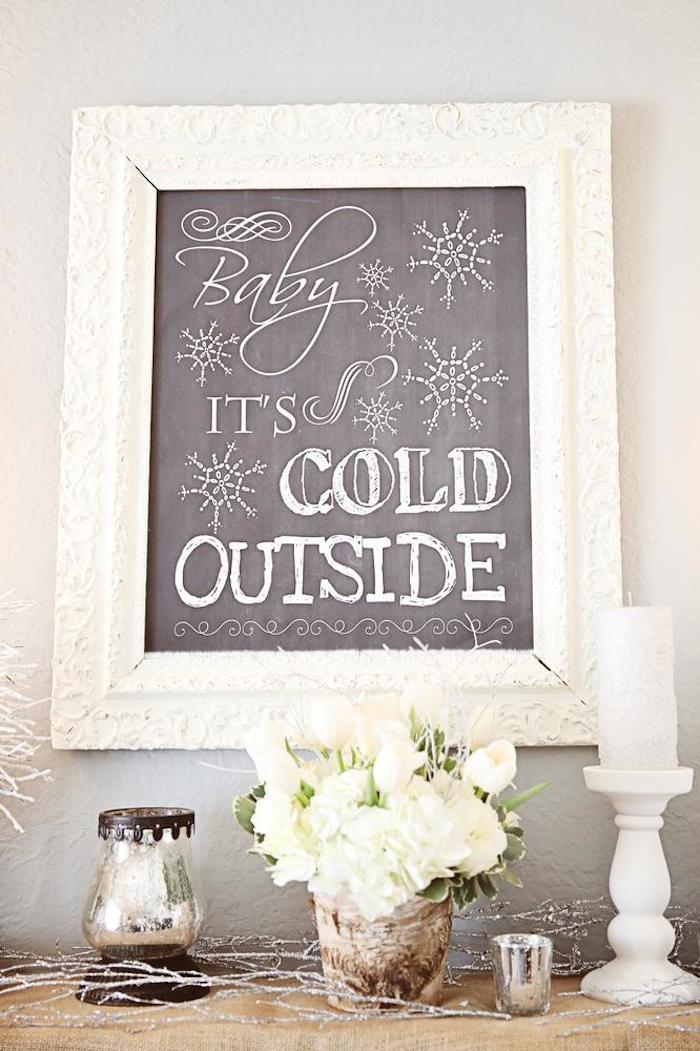 Kara S Party Ideas Baby It S Cold Outside Themed Winter