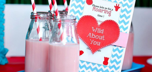 Wild About You Jungle Party with Such Cute Ideas via Kara's Party Ideas KarasPartyIdeas.com #valentinesday #bridalshower #loveparty #partydecor #partyideas (1)