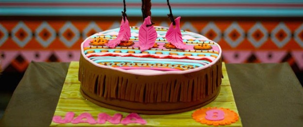 Aztec + Pocahontas themed birthday party with Lots of Really Cute Ideas via Kara's Party Ideas KarasPartyIdeas.com #pocahontasparty #nativeamerican #aztecparty #partyideas (1)