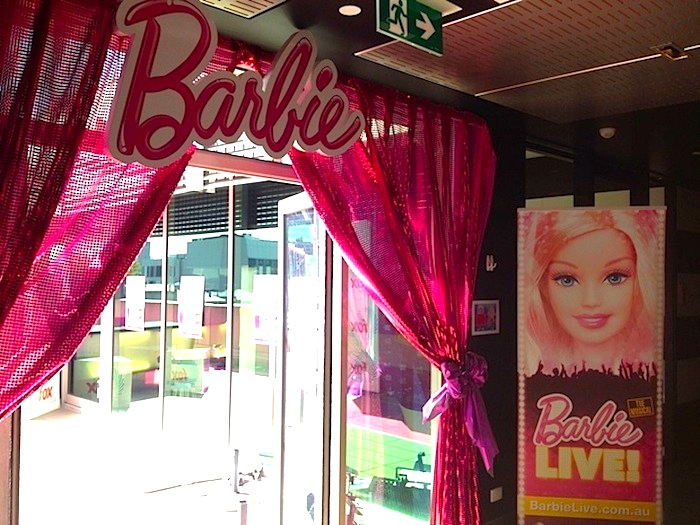 Karas Party Ideas Mattel Barbie Pearl themed birthday party via