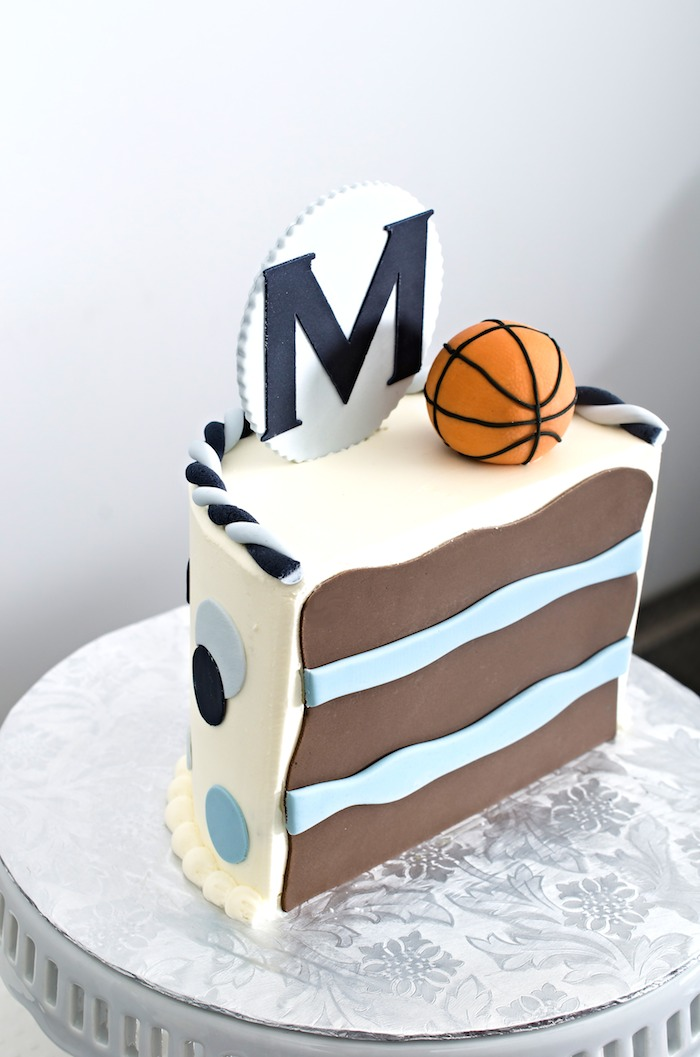 Karas Party Ideas Basketball half time half birthday party with