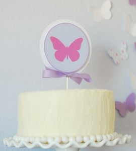 Butterfly themed birthday party with Lots of Cute Ideas via Kara's Party Ideas | Cake, decor, cupcakes, games and more! KarasPartyIdeas.com #butterflyparty #partyideas #partydecor #partyplanning #partystyling #eventstyling (10)
