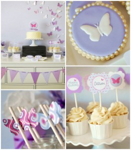 Butterfly themed birthday party with Lots of Cute Ideas via Kara's Party Ideas | Cake, decor, cupcakes, games and more! KarasPartyIdeas.com #butterflyparty #partyideas #partydecor #partyplanning #partystyling #eventstyling (1)