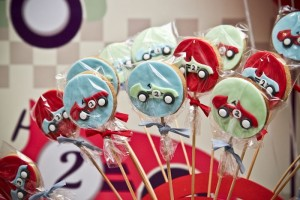 Vintage Race Car themed birthday party with Such Cute Ideas via Kara's Party Ideas Kara's Party Ideas | Cake, decor, cupcakes, games and more! KarasPartyIdeas.com #racecarparty #racecar #carparty #partyideas (18)