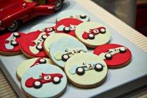 Vintage Race Car themed birthday party with Such Cute Ideas via Kara's Party Ideas Kara's Party Ideas | Cake, decor, cupcakes, games and more! KarasPartyIdeas.com #racecarparty #racecar #carparty #partyideas (17)