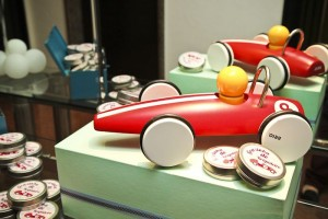 Vintage Race Car themed birthday party with Such Cute Ideas via Kara's Party Ideas Kara's Party Ideas | Cake, decor, cupcakes, games and more! KarasPartyIdeas.com #racecarparty #racecar #carparty #partyideas (15)